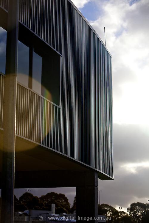 Office pod at the Australian Synchrotron, external view