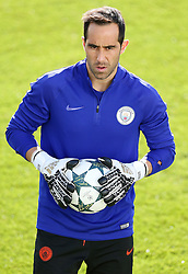 Manchester City goalkeeper Claudio Bravo - Mandatory by-line: Matt McNulty/JMP - 18/10/2016 - FOOTBALL - Manchester City - Training session ahead of Champions League qualifier against FC Barcelona