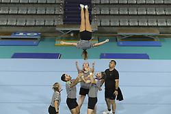 August 6, 2018 - Paris, FRANCE - Cheerleaders (Credit Image: © Panoramic via ZUMA Press)