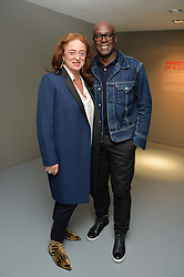 CAMILLA LOWTHER and CHARLES ABOAH at the Louis Vuitton Series 3 VIP Launch held at 180 Strand, London on 20th September 2015.