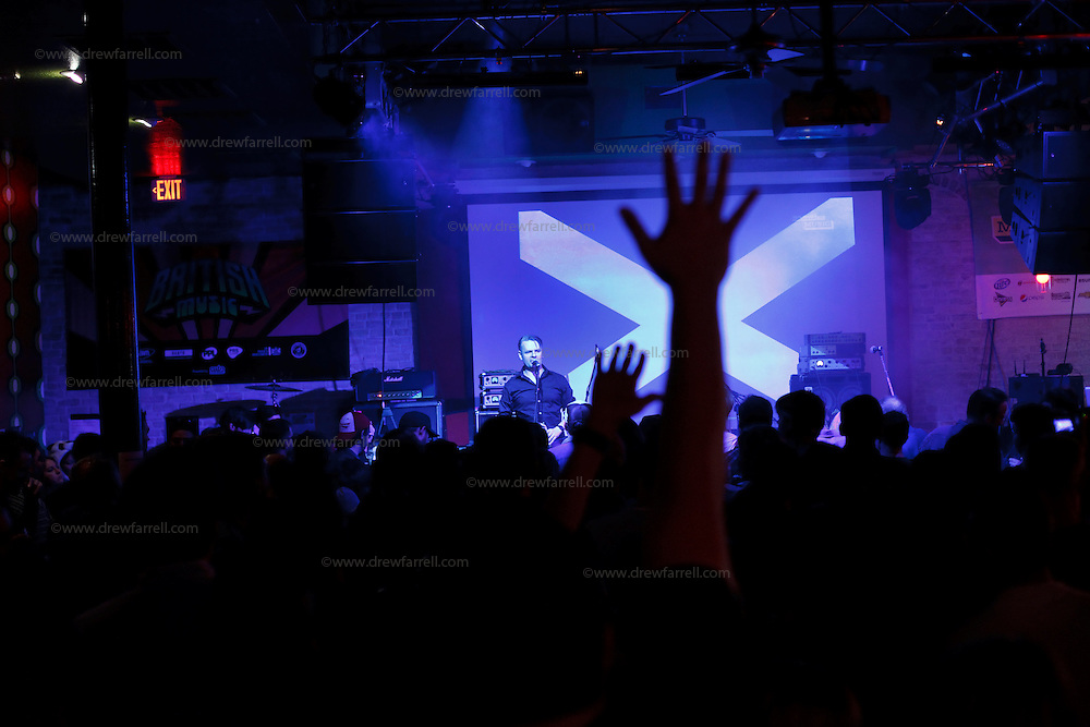 Picture shows : .BBC Radio Scotland presenter and broadcaster Vic Galloway..Atmosphere in Austin, Texas during the Creative Scotland showcase at the British Music Embassy at Latitude just off 6th street in downtown Austin..Picture  © Drew Farrell.13th March 2013.Creative Scotland is supporting two Scottish music showcases at South by South West (SxSW), the world's most prestigious international showcase for contemporary music.  .SxSW is one of the largest and most important events in the music industry calendar and recognised as providing an important platform for artists to develop their careers internationally...These showcases draw audience, including industry, to Scotland's presence at SxSW, which provides business opportunities for the musicians, and keeps Scotland's talent in the international spotlight..Caroline Parkinson, Director of Creative Development at Creative Scotland, said:.?Showcasing at SXSW provides unique opportunities for bands - whether making new connections, discussing deals or sowing the seeds for future collaborations.  With the support of Creative Scotland, these musicians will bring the vibrancy of the Scottish music scene to the audience of music fans and industry professionals from across the world attending this important event.?.The View are an indie rock band hailing from Dryburgh in Dundee. Their latest album Cheeky For A Reason won Best Album at the 2012 Tartan Clef Scottish Music Awards. The band are touring extensively in the USA and will also be performing in New York in April 2013, as part of the Scotland Week celebrations.  .Band Members:  Kyle Falconer (Guitar), Kieren Webster (Guitar), Steven Morrison (drums), Peter Reilly (Lead Guitar).Media Contact.Sophie Bambrough.E: sophie.bambrough@creativescotland.com.T: 07747606146.....
