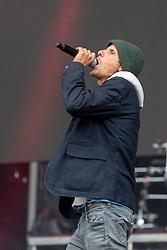 May 25, 2018 - Napa, California, U.S - MIKE D (MICHAEL LOUIS DIAMOND) of the Beastie Boys during BottleRock Music Festival at Napa Valley Expo in Napa, California (Credit Image: © Daniel DeSlover via ZUMA Wire)