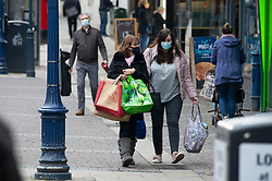 © Licensed to London News Pictures. 02/12/2020. <br /> Gravesend, UK. Shoppers head to the high street in Gravesend, Kent this morning as Kent comes out of lockdown and goes into tier three. Photo credit:Grant Falvey/LNP