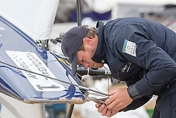 McDougall + McConaghy 2015 Moth Worlds, Sailing Anarchy and Sperry Top-Sider Moth Worlds coverage 2015, Sorrento, Australia. January 15th 2015. Photo © Sander van der Borch.