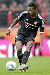 05.05.2012, Rhein Energie Stadion, Koeln, GER, 1. FC Koeln vs FC Bayern Muenchen, 34. Spieltag, im Bild David ALABA (FC Bayern Muenchen - 27) Freisteller // during the German Bundesliga Match, 34th Round between 1. FC Cologne and Bayern Munich at the Rhein Energie Stadium, Cologne, Germany on 2012/05/05. EXPA Pictures © 2012, PhotoCredit: EXPA/ Eibner/ Gerry Schmit..***** ATTENTION - OUT OF GER *****