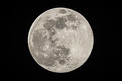 THEMENBILD - der Supermond über Kals am Grossglockner, aufgenommen am 07. April 2020, Österreich // the super moon over Kals am Grossglockner on Tuesday April 7, 2020, Austria. EXPA Pictures © 2020, PhotoCredit: EXPA/ Johann Groder