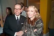 JONATHAN NEWHOUSE; FRANCA SOZZANI, OPENING OF CONDE NAST WORLWIDE NEWS. Vogue House. London. 21 February 2011. -DO NOT ARCHIVE-© Copyright Photograph by Dafydd Jones. 248 Clapham Rd. London SW9 0PZ. Tel 0207 820 0771. www.dafjones.com.