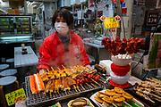 Kuromon Market, Dotonbori, Osaka, Japan