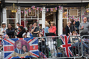 the day before the Royal Wedding, Windsor, 18 May 2018