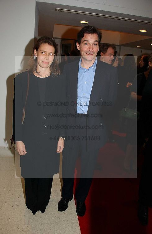 LADY SARAH CHATTO daughter of the late Princess Margaret and her husband MR DANIEL CHATTO at a party to celebrate the 90th birthday of Vogue magazine held at The Serpentine Gallery, Kensington Gardens, London on 8th November 2006.<br /><br />NON EXCLUSIVE - WORLD RIGHTS