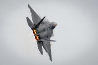 "Trenton, NJ. Joint Base McGuire-Dix-Lakehurst ""Power In The Pines"". F-22 Raptor. Photograph by Alan Brian Nilsen/©AlanBrianNilsen"