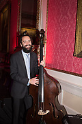 MATT RIDLEY,  KIT MASSEY TRIO, Literary Review  40th anniversary party and Bad Sex Awards,  In & Out Club, 4 St James's Square. London. 2 December 2019