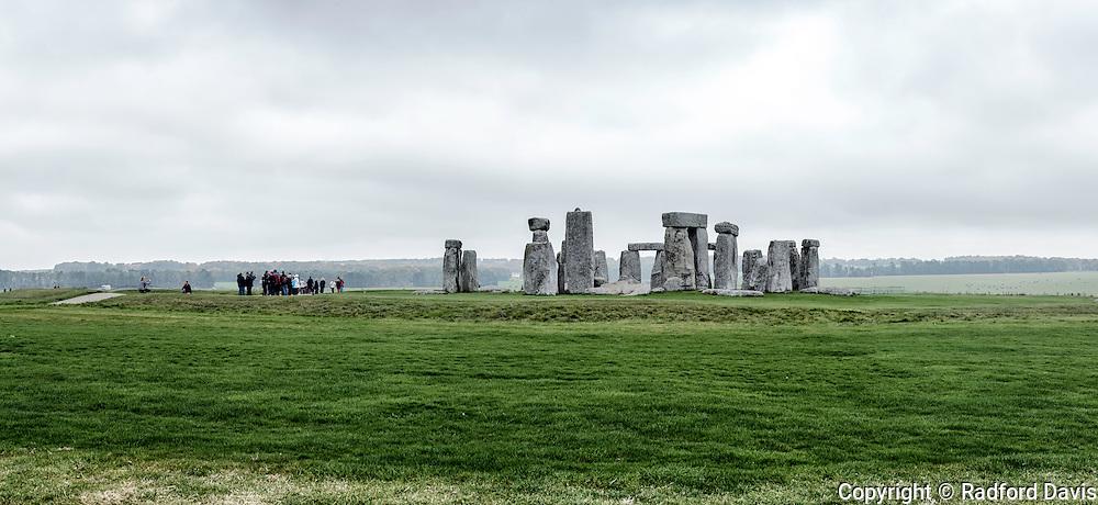 Stonehenge, England. Panorama.