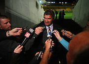 Hurricanes coach Colin Cooper talks to the media after the controversial draw.<br /> Super 14 rugby match - Hurricanes v Crusaders at Westpac Stadium, Wellington. Friday, 2 April 2010. Photo: Dave Lintott/PHOTOSPORT