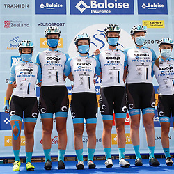 EEKLO (BEL) July 8 CYCLING: <br /> 1th Stage Baloise Belgium tour <br /> Team Coop-Hitec