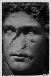 Greek Portrait of a male face