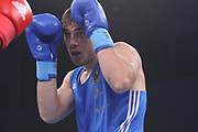Boxen: AIBA Box-WM, Day 3, Hamburg, 20.08.2017<br /> 91 Kg: David Nyika (NZL, Red) - Igor Teziev (GER, Blue)<br /> © Torsten Helmke