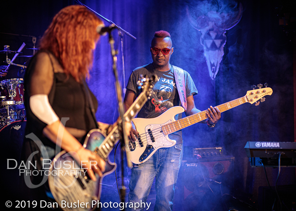 The Joanna Connor Band at The Extended Play Sessions Fallout Shelter on October 20, 2019.