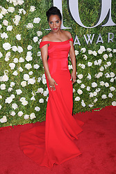 June 11, 2017 - New York, NY, USA - June 11, 2017  New York City..Michelle Wilson attending the 71st Annual Tony Awards arrivals on June 11, 2017 in New York City. (Credit Image: © Kristin Callahan/Ace Pictures via ZUMA Press)