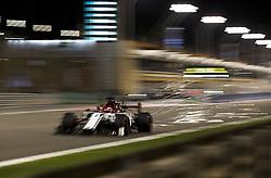 March 30, 2019 - Sakhir, Bahrain - Motorsports: FIA Formula One World Championship 2019, Grand Prix of Bahrain, ..#7 Kimi Raikkonen (FIN, Alfa Romeo Racing) (Credit Image: © Hoch Zwei via ZUMA Wire)
