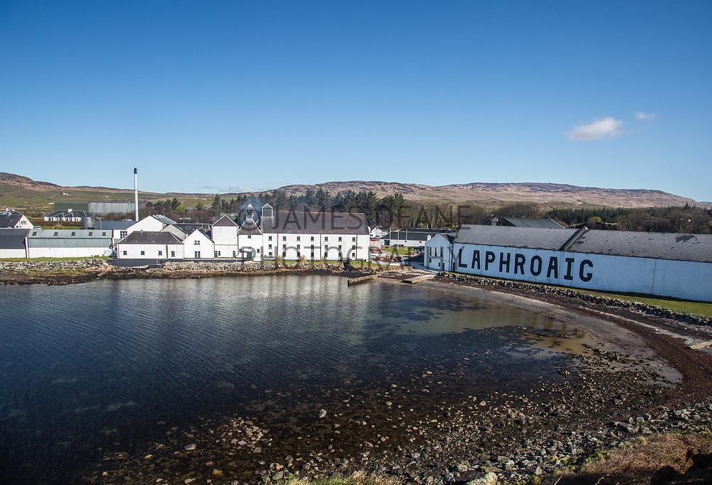 Laphroaig Distillery on the Scottish island of Islay