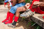 Belo Horizonte_MG, Brasil...1a Copa Kaiser de Futebol Amador de Belo Horizonte. Jogo entre Sao Luiz x CA Nacionalrense no campo do Havai...1st Kaiser Cup of Amateur Football in Belo Horizonte. The match was between Sao Luiz  X CA Nacionalrense in the Havai soccer field...Foto: MARCUS DESIMONI / NITRO