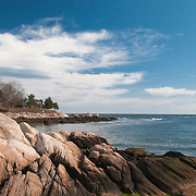 A cove in Manchester-by-the-Sea, Massachusetts