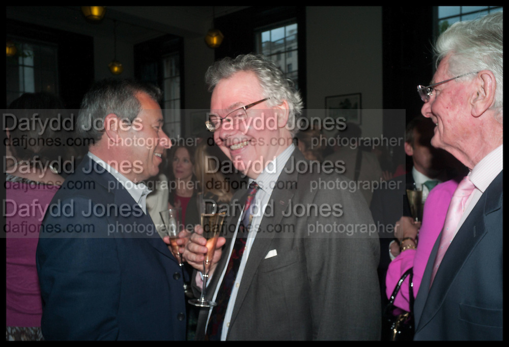INIGO THOMAS, Launch of Rachel Kelly's memoir 'Black Rainbow' about recovering from depression with the help of poetry published by Hodder & Stoughton , ( Author proceeds will be given to the charities SANE and United Response ). Cafe of the National Gallery.  London. 7 May 2014