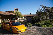 August 2014: Pebble Beach Concours. Lamborghini