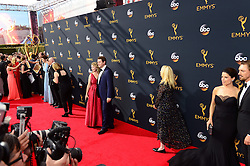 September 18, 2016 - Los Angeles, CA, USA - The arrival scene at the 68th Annual Emmy Awards at the Microsoft Theater in Los Angeles, California on Sunday, September 18, 2016. (Credit Image: © Michael Owen Baker/Los Angeles Daily News via ZUMA Wire)