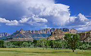 Storm Clouds Over Ridges, Southern Utah Near Zion National Park