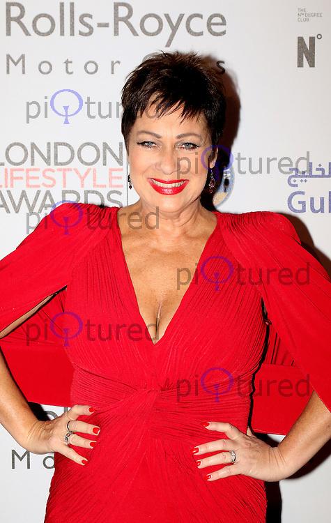 Denise Welch, London Lifestyle Awards, Lancaster London Hotel UK, 03 October 2016, Photo by Richard Goldschmidt