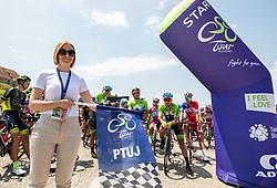 Nuska Gajsek, mayor of Ptuj during 1st Stage of 27th Tour of Slovenia 2021 cycling race between Ptuj and Rogaska Slatina (151,5 km), on June 9, 2021 in Slovenia. Photo by Vid Ponikvar / Sportida