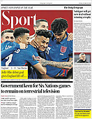 March 26, 2021 (UK): Front-page: Today's Newspapers In United Kingdom