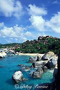 snorkeling at The Baths, Virgin Gorda, British Virgin Islands ( Caribbean Sea )