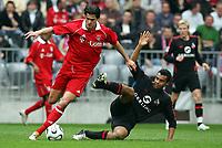 v.l. Michael Ballack, Marvin Matip<br /> Bundesliga FC Bayern Muenchen - 1. FC Koeln