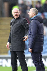 March 16, 2019 - Burnley, Lancashire, United Kingdom - BURNLEY, UK 16TH MARCH  Burnley manager Sean Dyche during the Premier League match between Burnley and Leicester City at Turf Moor, Burnley on Saturday 16th March 2019. (Credit: Mark Fletcher   MI News) (Credit Image: © Mi News/NurPhoto via ZUMA Press)
