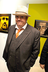 PHIL JUPITUS at an exhibition of artist Paul Karslake's work entitled Ideas & Idols, held at Scream, 34 Bruton Street, London W1 on 21st February 2008.<br /><br />NON EXCLUSIVE - WORLD RIGHTS