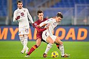 Foto Fabio Rossi/AS Roma/LaPresse<br /> 17/12/2020 Roma (Italia)<br /> Sport Calcio<br /> Roma-Torino<br /> Campionato Italiano Serie A TIM 2020/2021 - Stadio Olimpico<br /> Nella foto: Riccardo Calafiori<br /> <br /> Photo Fabio Rossi/AS Roma/LaPresse<br /> 17/12/2020 Rome (Italy)<br /> Sport Soccer<br /> Roma-Torino<br /> Italian Football Championship League Serie A Tim 2020/2021 - Olimpic Stadium<br /> In the pic: Riccardo Calafiori