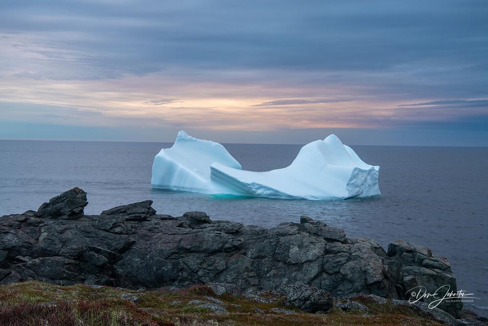 Iceberg, St. Anthony, Newfoundland and Labrador NL, Canada