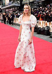 Margot Robbie attending the world premiere of Goodbye Christopher Robin at the Odeon in Leicester Square, London. See PA story SHOWBIZ Goodbye. Picture Date: Wednesday 20 September. Photo credit should read: Ian West/PA Wire