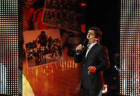 20120227: LISBON, PORTUGAL - SL Benfica 108th anniversary gala at Coliseu dos Recreios in Lisbon, Portugal.<br /> In photo: Singer Camane.<br /> PHOTO: Alvaro Isidoro/CITYFILES