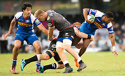 DURBAN, SOUTH AFRICA - APRIL 21: Craig Barry during the Super Rugby match between Cell C Sharks and DHL Stormers at Jonsson Kings Park on April 21, 2018 in Durban, South Africa. Picture Leon Lestrade/African News Agency/ANA