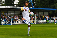 Leeds United Mateusz Klich (6) warming up during the Pre-Season Friendly match between Tadcaster Albion and Leeds United at i2i Stadium, Tadcaster, United Kingdom on 17 July 2019.