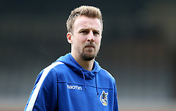 Chris Lines of Bristol Rovers arrives at Vale Park for the Sky Bet League One fixture against Port Vale - Mandatory by-line: Robbie Stephenson/JMP - 18/02/2017 - FOOTBALL - Vale Park - Stoke-on-Trent, England - Port Vale v Bristol Rovers - Sky Bet League One