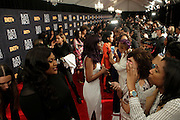 April 1, 2016- Newark, NJ: United States- Atmosphere during the 2016 Black Girls Rock Red Carpet Arrivals held at NJPAC on April 1, 2016 in Newark, New Jersey. Black Girls Rock! is an annual award show, founded by DJ Beverly Bond, that honors and promotes women of color in different fields involving music, entertainment, medicine, entrepreneurship and visionary aspects.   (Terrence Jennings/terrencejennings.com)