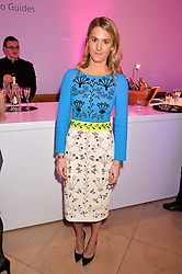 LADY KINVARA BALFOUR at the Alexandra Shulman and Leon Max hosted opening of Vogue 100: A Century of Style at The National Portrait Gallery, London on 9th February 2016.