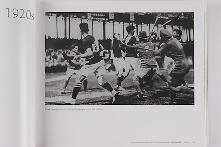 Tipperary in action in the Polo Grounds New York on their 1926 tour.