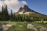 Liberty Bell Mountain seen from Washington Pass, North Cascades Washington