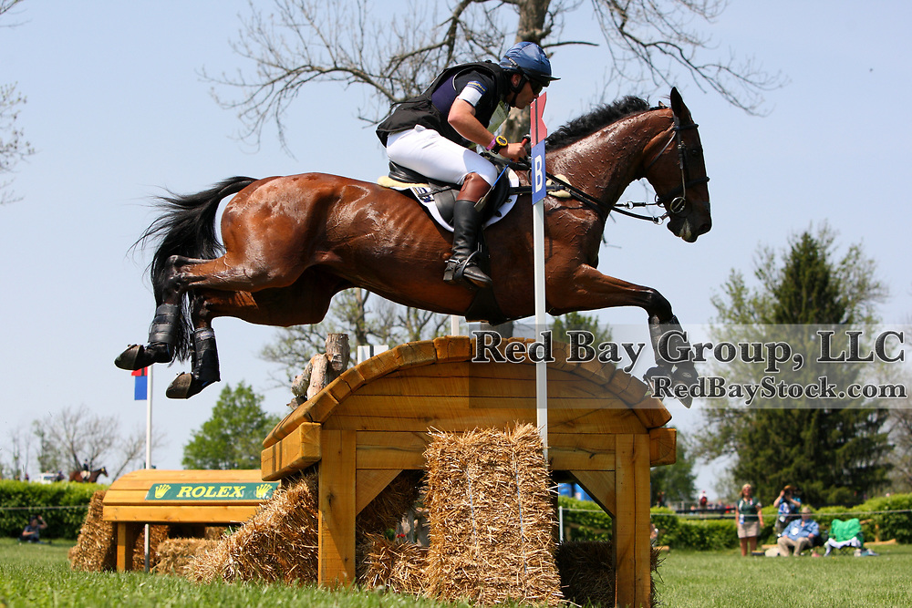 Clayton Fredericks and Be My Guest at the 2011 Rolex Kentucky Three-Day Eventing in Lexington, KY.